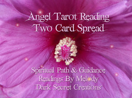 Angel Tarot Reading Two Card Spread, Spiritual Path And Guidance Sent Vi... - $15.00