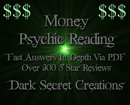 Money Psychic Reading Via PDF, Fast Answers Psychic Medium Reading - $5.00