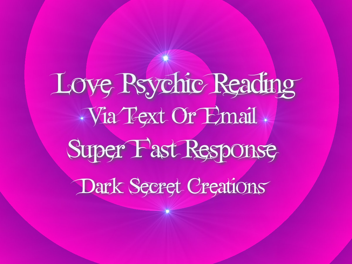 Love Psychic Reading One Question Via Text Or Email PDF, Same Day Psychic Readin