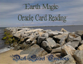 Earth Magic Oracle Card Reading,  PDF Email Delivery - $5.00
