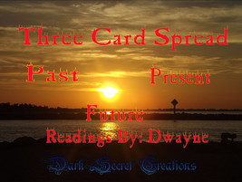 Three Card Spread Archangel Power Tarot Reading, Past, Present, And Future - $20.00