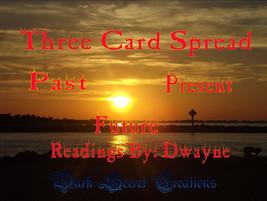 Three Card Spread Archangel Power Tarot Reading... - $20.00