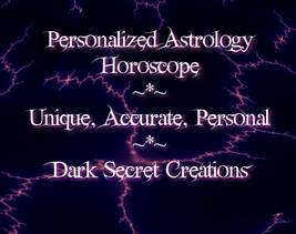 Personalized Astrology Horoscope Reading Via PD... - $10.00