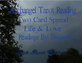 Archangel Tarot Reading Two Card Spread, Life And Love Sent Via PDF - $15.00