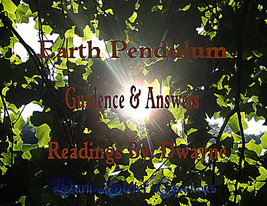 Earth Pendulum Reading, Guidance And Answers, 10 Question Reading Sent V... - $30.00