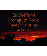 One Card Spread Archangel Power Tarot Reading, ... - $10.00