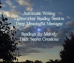 Lightworker Reading Session, Automatic Writing, Angelic Guiding Messages - $30.00