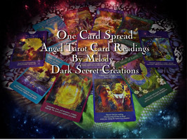 One Card Spread Angel Tarot Reading, Quick Tarot Reading, Image Plus Rea... - $10.00