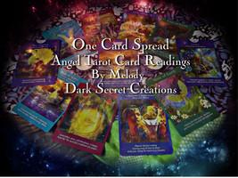 One Card Spread Angel Tarot Reading, Quick Taro... - $10.00