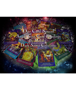 One Card Spread Angel Tarot Reading, Quick Taro... - $10.00