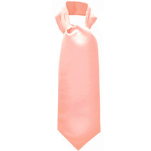 New Men's 100% Polyester solid Ascot Cravat Only Wedding Prom  Misty Rose - $12.50