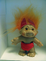 1986 Dam Orange Hair Devil Troll - $12.00