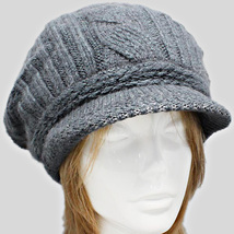 New Womens Ivory Rabbit Hair Newsboy Hat,  Cabbie Cap, Peaky Blinders Hat - $14.84