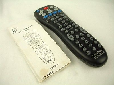 radio shack family favorites 5 in 1 and 50 similar items rh bonanza com Direct TV Remote Manual Cox Cable Remote Manual