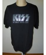 KISS Detroit Rock City Men's Black T-Shirt By Vintage Vinyl Size XL - $19.00