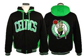 Boston Celtics Reversible Fleece Hoodie Jacket (X-Large) [Apparel] - $83.95