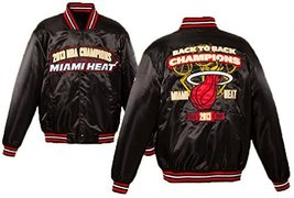 Miami Heat 2013 NBA Champions Satin Jacket (Medium) [Apparel] - $114.95