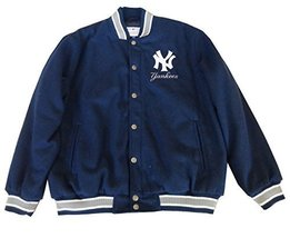 JH Design Men's MLB Yankees Wool Jacket [Apparel] - $134.95