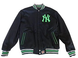 JH Design New York Yankees Reversible Wool MLB Jacket (2XL) [Apparel] - $124.95