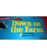 Down On the Farm by Tootsie Toys Farm Animals (1990) - $5.95