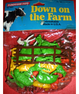 Down On the Farm by Tootsie Toys Farm Animals (1990) - $4.95