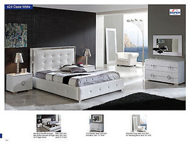 ESF Coco Bedroom Set Queen 5 Piece Bed Modern Contemporary Made in Spain