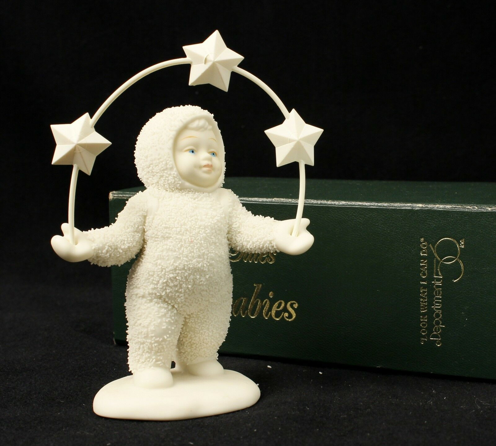 Primary image for Department 56 Snowbabies Look What I Can Do Mint in Box