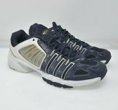 ADIDAS Men's Sz 12 JP 290 Blue White Sports Running Hiking Basketball Shoes - $46.53 CAD
