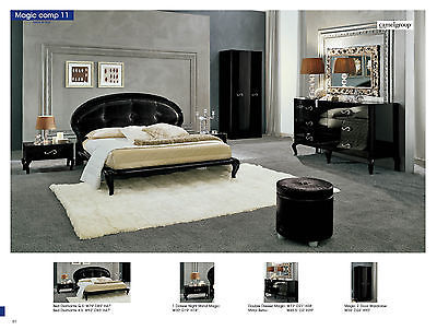 ESF Magic Comp 11 with Diamange King Bed Modern Contemporary Made in Italy