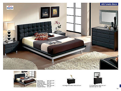 ESF 603 Toledo Bedroom Set King Bed Modern Contemporary Spain