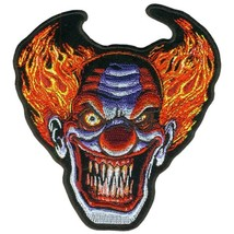 "ANGRY CLOWN ( 5"" ) MOTORCYCLE JACKET VEST BIKER PATCH - $9.99"