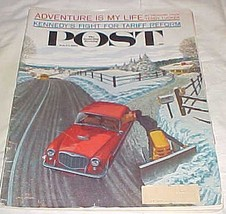 The Saturday Evening Post Magazine February Feb. 24, 1962 [Single Issue ... - $11.11