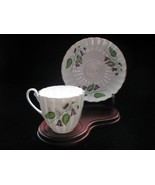 SHELLEY Bone China Demi Tasse Cup & Saucer - CAMPANULA - $48.00