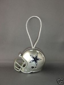 DALLAS COWBOYS NFL FOOTBALL HELMET CHRISTMAS XMAS ORNAMENT RIDDELL
