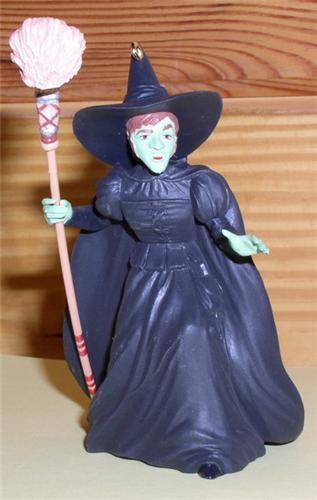 Wizard of Oz Wicked Witch hallmark Keepsake  Ornament