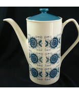 Vintage Johnson Bros Brothers England White  Porcelain Blue Pattern Coff... - $70.39