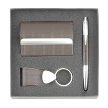 CLASSIC EXECUTIVE GIFT SET: Carholder, Keychain... - $18.66
