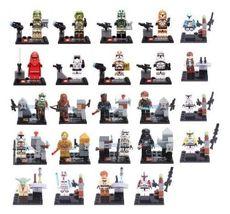 24pcs set lot Star Wars Minifigures Action Yoda Darth Vader Clone Toy Co... - $34.39