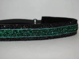 Glitter Headband non slip adjustable noslip Sweaty Sports Hair Bands Bla... - €6,26 EUR
