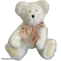 Boyds Jennifer Bearringer  Love you Mom White Bear Head Bean Heirloom Co... - $25.61