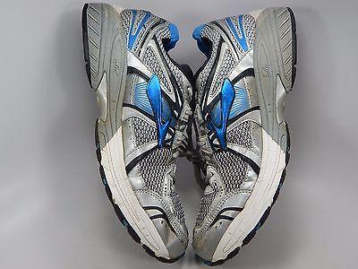 Brooks GTS 12 Men's Running Shoes Size US 12.5 M (D) EU 46.5 Silver 1101061D466