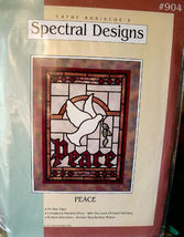 "Wall Hanging Pattern 904 ""Peace"" by Spectral Designs - $7.99"