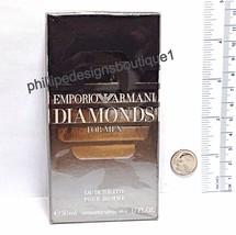 Emporio Armani Diamonds for men eau de toilette Spray 1.7 oz 50ml SEALED - $58.90