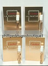 Cartier La Panthere Sample vial travel eau de parfum 4pcs - $27.76