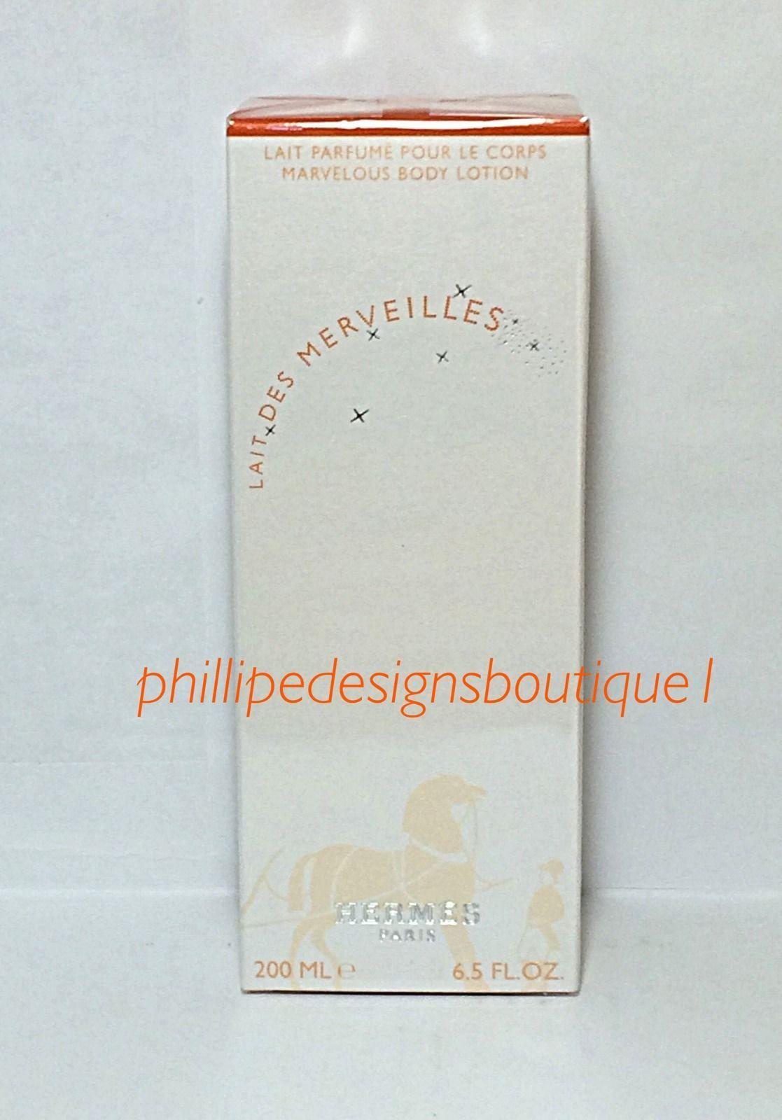 fdbbfa62c8 Hermes Lait Des Merveilles Body Lotion 6.5oz Sealed Box Eau Des Merveilles  - ₹5