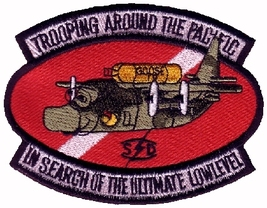 USAF 1st SOS Special Operations Squadron Trooping Around the Pacific Patch - $9.99