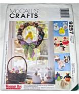McCall's Crafts 9257 Seasonal Dolls Easter Christmas Pattern - $8.95