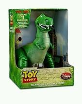 "Disney Pixar Toy Story Deluxe Talking Rex 12"" Figure - $129.03"