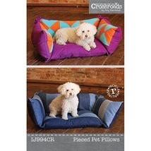 Indygo Junction Pattern Pieced Pet Pillows IJ994CR - $9.90