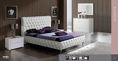 ESF Prestige Cassic Bedroom Set Queen Bed Modern Contemporary Made in Italy